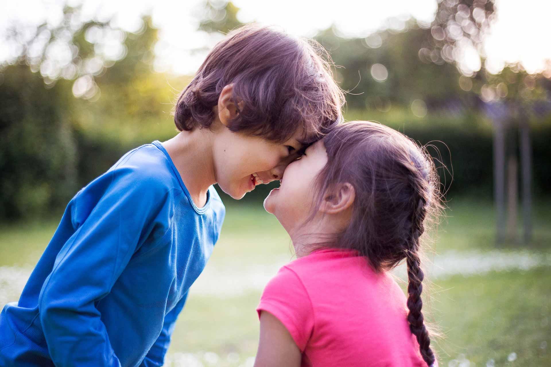 Kinderfotos von Bruder & Schwester Magdalin